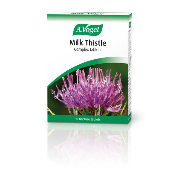 a vogel milk thistle tincture tablets tabs