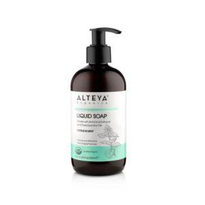 alteya organic liquid soaps liquid soap citrus and mint 250ml 1