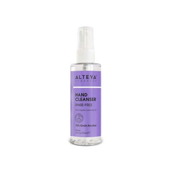 alteya organics hand cleanser spray with organic lavender oil ml