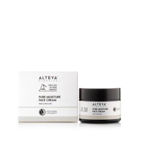 alteya pure moisture face cream rose mullein 50ml