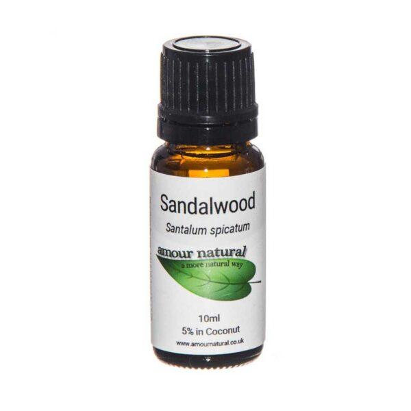amour natural sandalwood 10ml 1