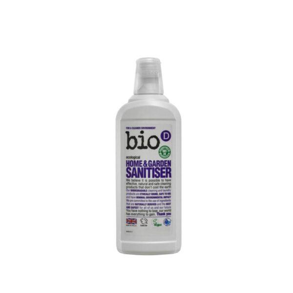 bio d home garden sanitiser 750ml 2
