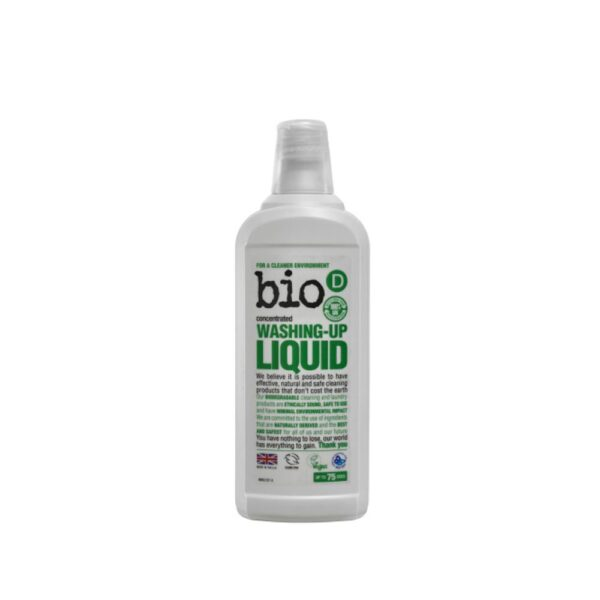 bio d washing up liquid 750ml 1