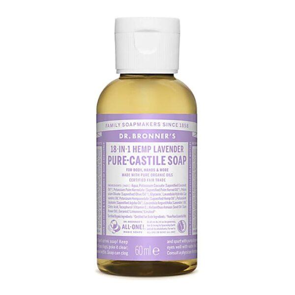 dr bronners lavender castile 60ml 1