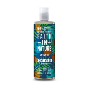 faith in nature coconut bodywash 1