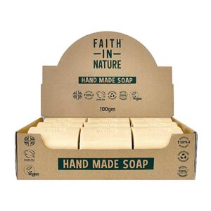 faith in nature fragrance free soap bar 1