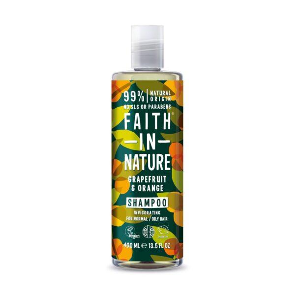 faith in nature grapefruit orange shampoo 1