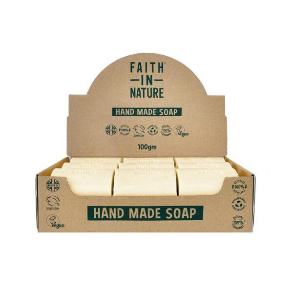 faith in nature grapefruit soap bar 1