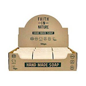 faith in nature hemp soap bar 1