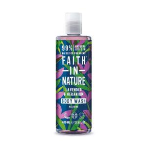 faith in nature lavender geranium bodywash 1