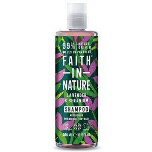 faith in nature lavender geranium shampoo 1