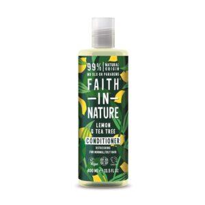 faith in nature lemon tea tree conditioner 1