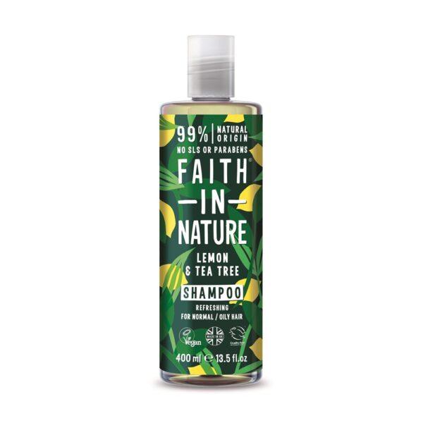 faith in nature lemon tea tree shampoo 1