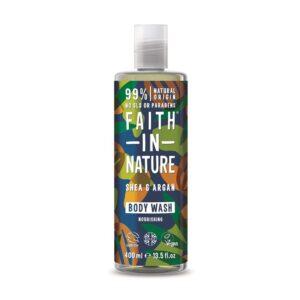 faith in nature shea argan body wash 1