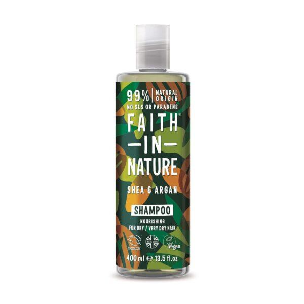 faith in nature shea argan shampoo 1
