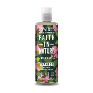 faith in nature wild rose shampoo 1