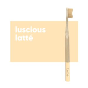 fete adult toothbrush latte soft 1