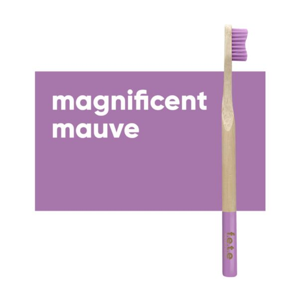 fete adult toothbrush mauve firm 1