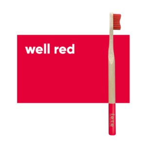 fete adult toothbrush red firm 1
