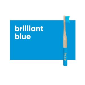 fete childrens toothbrush blue 1