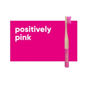 fete childrens toothbrush pink 1