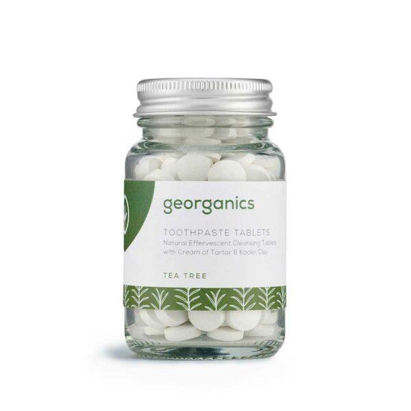 georganics toothpaste tablets teatree 120 tabs 1