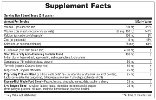 gi wellness ingredients