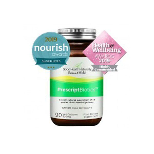 good health naturally prescript biotics 90 veg caps 500mg 1