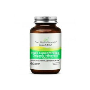 good health naturally pure concentrated organic minerals capsules 1