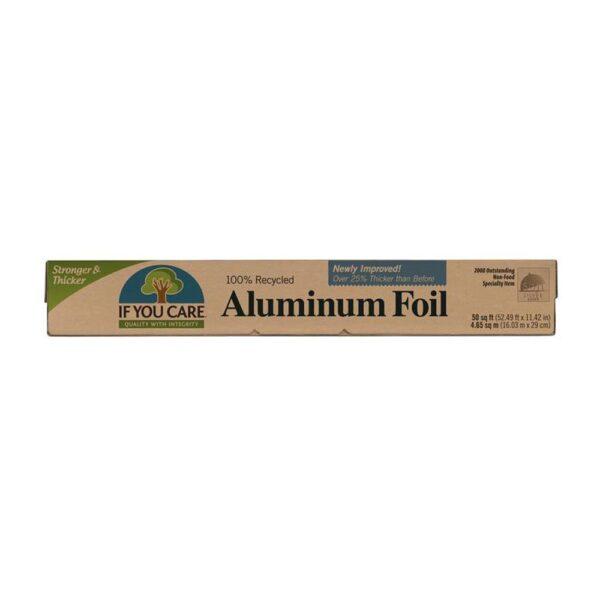 if you care aluminium foil 1
