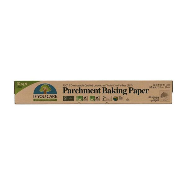 if you care parchment paper 1
