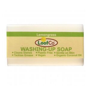 loofco lemongrass washing up soap bar 1