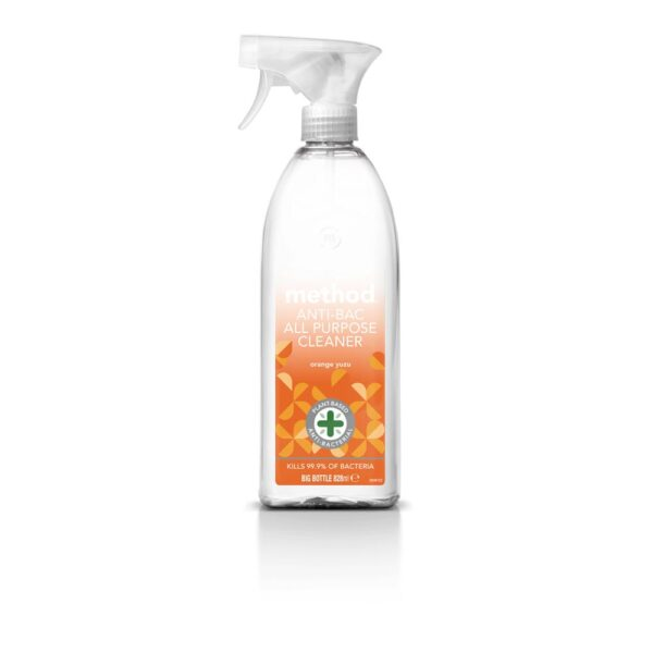 method anti bac all purpose cleaner orange yuzu 828ml 1