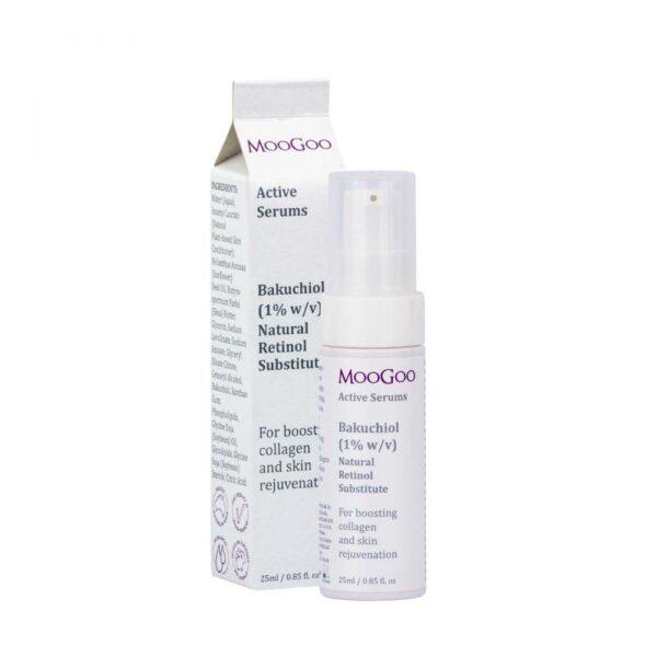 moogoo bakuchiol reitinol substitute face serum 1