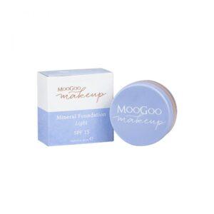 moogoo mineral foundation powder 10g light 1