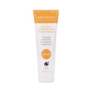 moogoo moisturisers soothing msm moisturiser 120g 1
