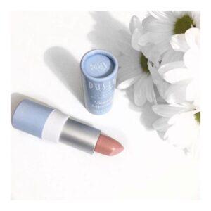 moogoo natural vegan lipstick guava pink 1