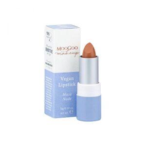 moogoo natural vegan lipstick maca nude 1