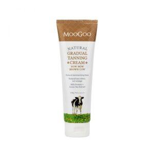 moogoo sun care gradual tanning cream 120g 1