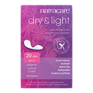 natracare dry and light incontinence slim 1