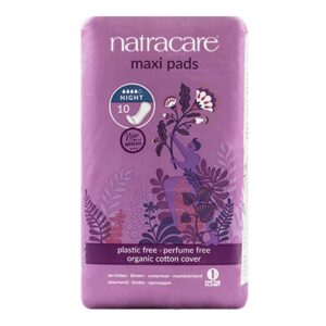 natracare maxi pads night time 1