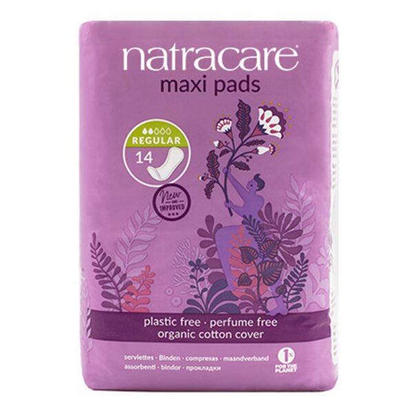 natracare maxi pads regular 1