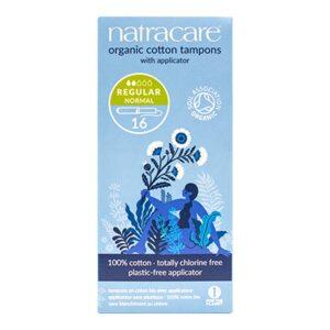 natracare tampons applicator regular 16s 1