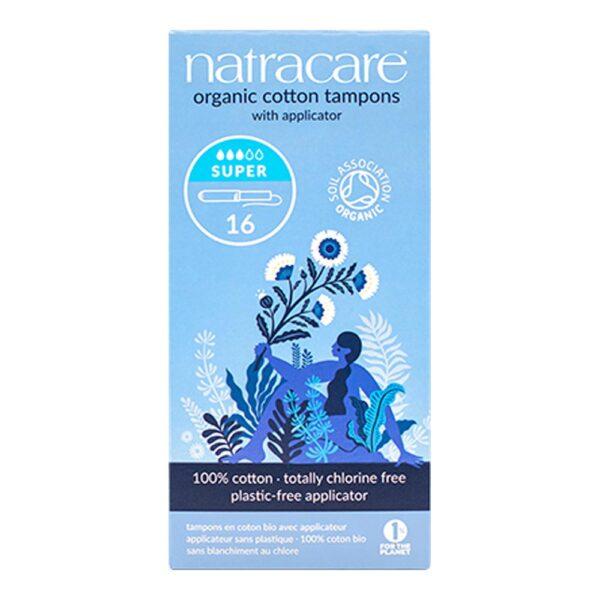 natracare tampons applicator super 16s 1