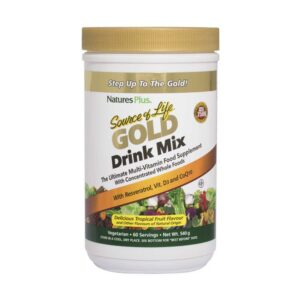 natures plus source of life gold powder