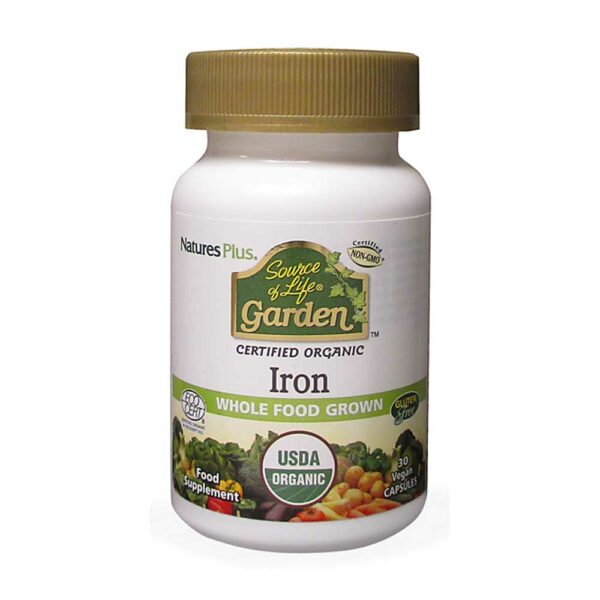 natures plus source of life iron