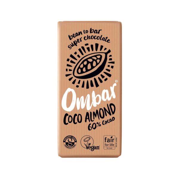 ombar 60 coco almond 70g