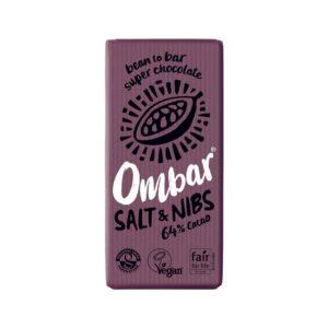 ombar salt nibs 70g