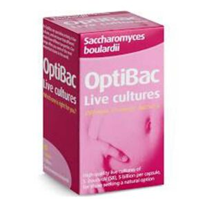 optibac saccharomyces boulardi capsules