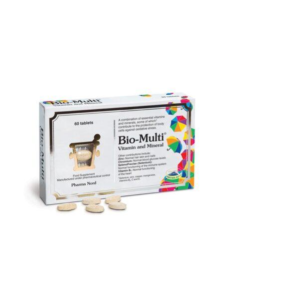 pharmanord bio multi vitamin and mineral 60caps 1